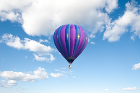 Balloon on clear blue sky photo