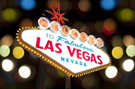 welcome sign: Bienvenue � Las Vegas c�l�bre Bienvenue Connexion