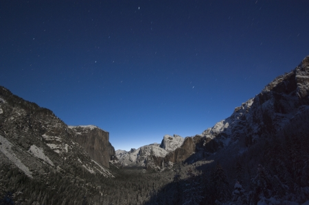 Yosemite National Park in Winter  photo