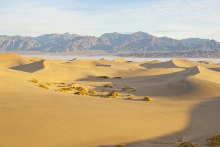 Desert sand dunes  Death Valley, USA Stock Photo - 13157036