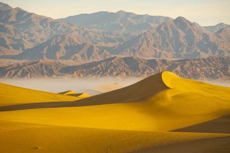 Los desiertos de dunas de arena Valle de la Muerte
