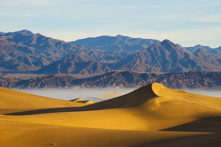 Deserts Sand dune  Death Valley Stock Photo - 13000966