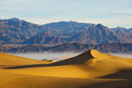 Deserts Sand dune  Death Valley Stock Photo - 13000966