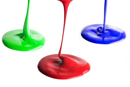 Many Paint dripping Stock Photo - 13000839