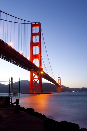 Golden Gate bridge long shutter speed long exposure Stock Photo - 13000862