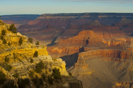 Grand Canyon national park at sunrise, Arizona, USA photo