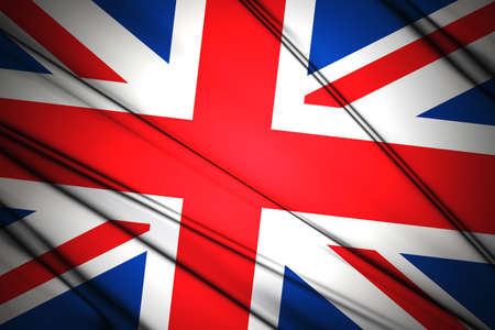 United Kingdom Wavy flag photo