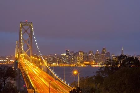 Bay Bridge, San francisco, USA Stock Photo