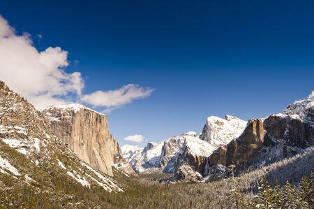 Yosemite National Park in Winter photo