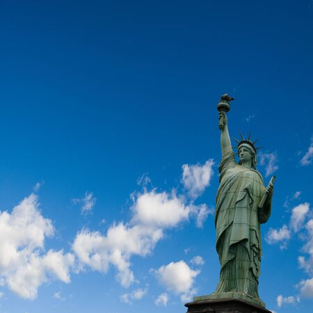 Statue of liberty  4th of July, Independence day  USA  Stock Photo - 13973910