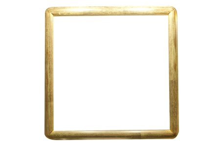 Vintage gold picture frame photo
