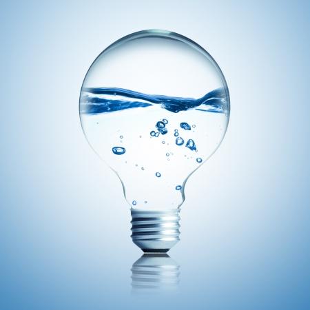 side of light: water side light bulb