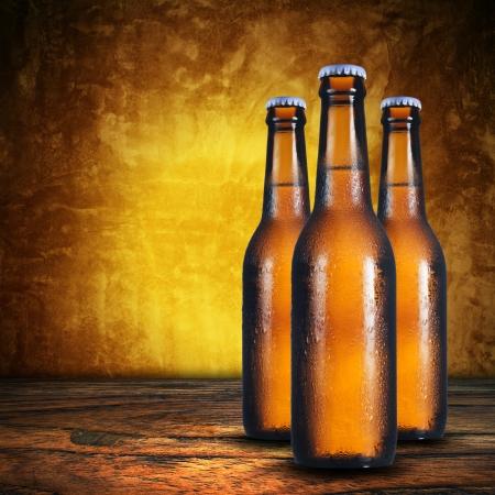 Three bottle of beer Stock Photo - 15168321