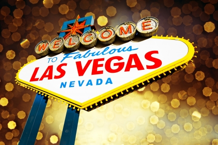 hotel casino: Welcome to Fabulous Las Vegas Sign
