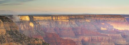 Panorama shot of Grand Canyon South Rim photo