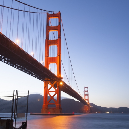 Golden gate bridge, San Francisco, California, USA photo