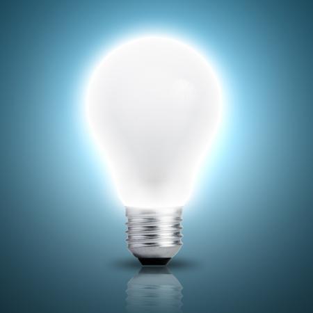 fluorescent tubes: Light bulb turn on