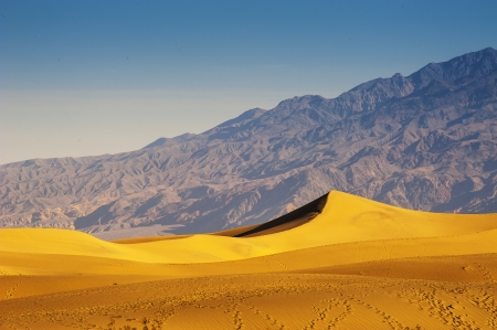 Desert Sand Dunes, Death Valley, California, USA photo