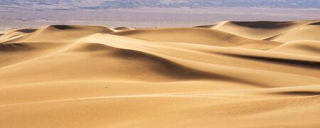 extreme heat: Desert Sand Dunes, Death Valley, California, USA