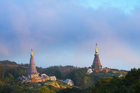 phon: Thai Temple on North part of Thailand, Doi Inthanon