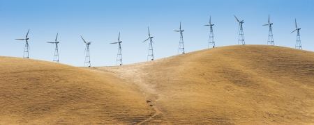 Panorama view of Wind turbine Stock Photo - 17278330