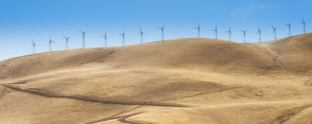 Panorama view of Wind turbine Stock Photo - 17278328