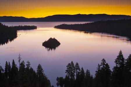 Lake Tahoe, California, USA photo