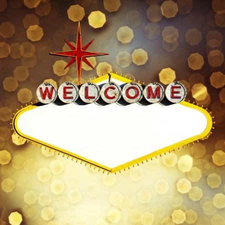 welcome party: Vac�a Muestra de Las Vegas en el fondo Bokeh