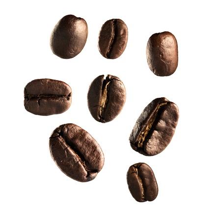 Coffee bean on white Stock Photo - 17882405