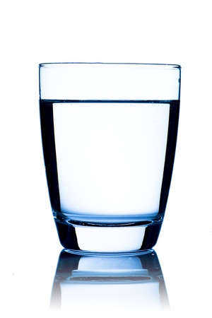 purification: Glass of water