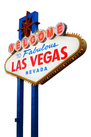 welcome sign: Welcome to Fabulous Las Vegas sign, Nevada, USA