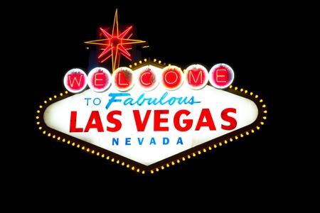 las vegas night: Welcome to Las Vegas Nevada Sign
