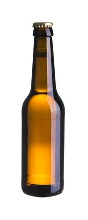 dewed: Cold beer bottle