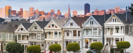 Alamo Square, San Francisco, California, USA photo