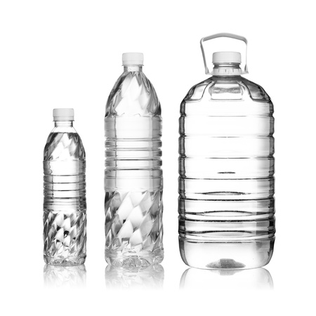 Water Bottles in various sizes photo