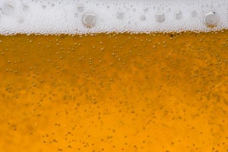 cerveza: Burbuja de cerveza y la espuma