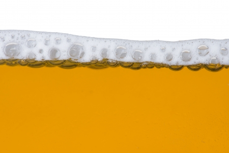 Beer bubble and foam photo
