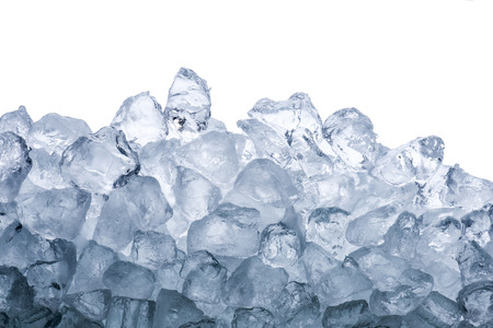 ice crystals: Ice cubes