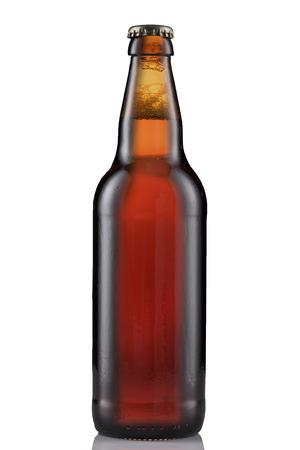 single beer: Bottle of Beer Stock Photo