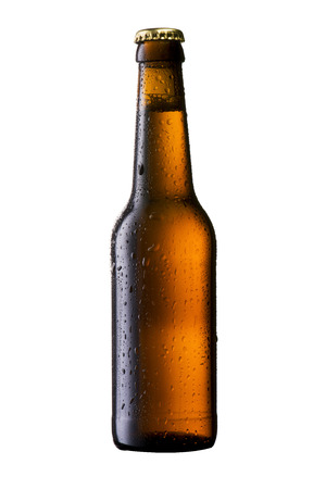 Cold Beer Bottle photo