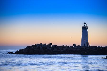 灯台サンセット