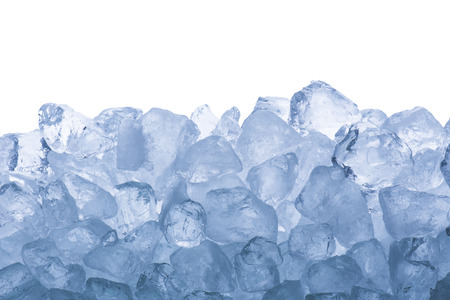 crystal clear: Ice Cubes Stock Photo