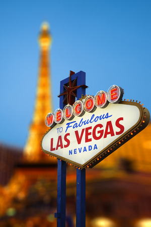 Welcome To Las Vegas neon sign photo