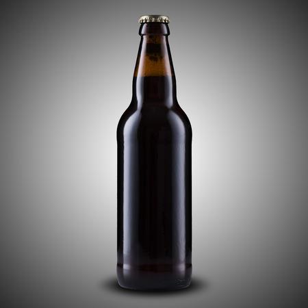 brown bottle: Bottle of Beer Stock Photo