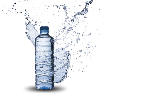 Bouteille d'eau Splash Banque d'images - 31620273