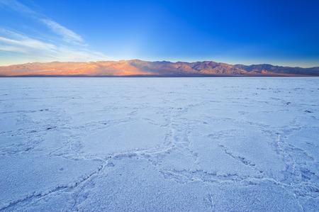salinity: Death Valley Stock Photo