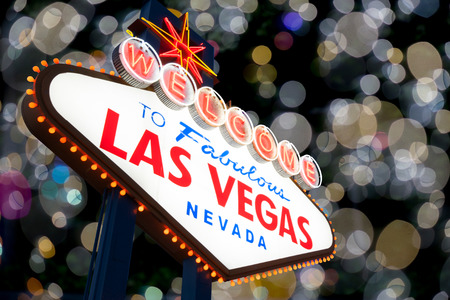 Welcome to Fabulous Las Vegas Neon Sign photo