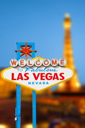 Welcome to Fabulous Las Vegas Neon Sign photo