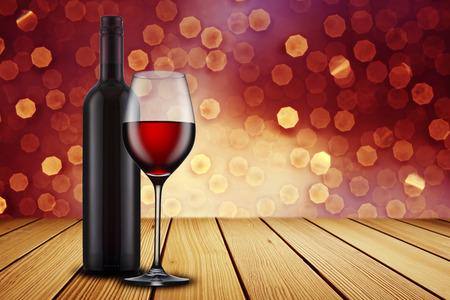 Red Wine Glass photo