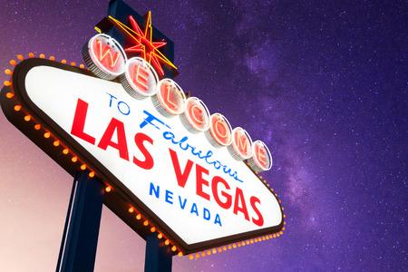 vegas strip: Welcome to Fabulous Las Vegas Neon Sign
